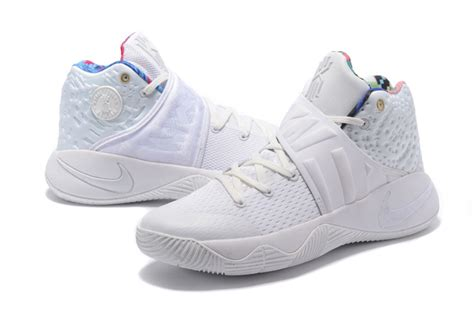 2017 cheap nike kyrie 2 what the all white sail