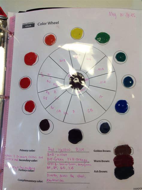 color wheel paul mitchell boise   instruments color
