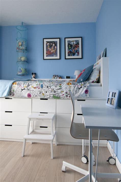 Ikea Boys Room hochbett selber bauen mit ikea m 246 beln betten mit stauraum