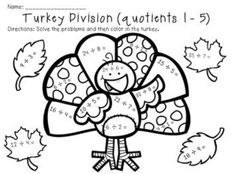 turkey addition coloring page 1000 images about math topics 5 6 multiplication on