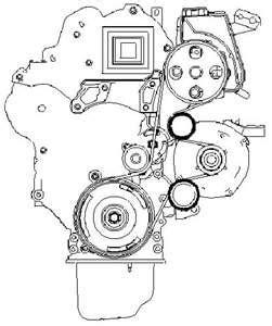 alternator belt picture 206 hdi fixya