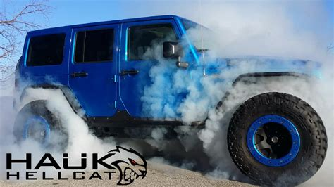 jeep wrangler hellcat crazy hellcat powered jeep wrangler answers a question we