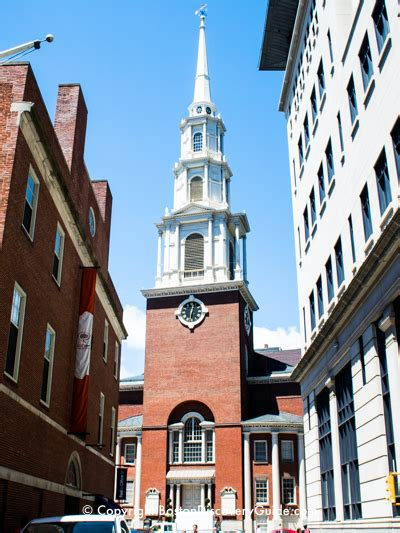 park street church freedom trail boston discovery guide