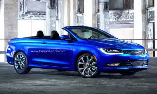 Chrysler Convertible Cars 2015 Chrysler 200 Rendered In Convertible Clothing We