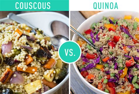 nutritional value of couscous vs quinoa rice nutrition ftempo