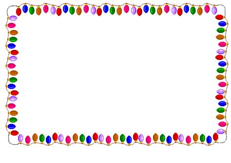 christmas borders moving clipart