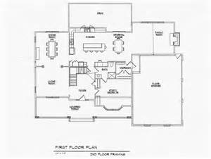 Center Hall Colonial Floor Plan Colonial Open Floor Plan Farmhouse Side Hall Colonial