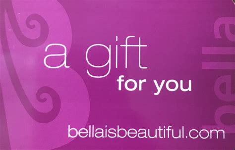 Aveda Gift Card - aveda archives bella salon