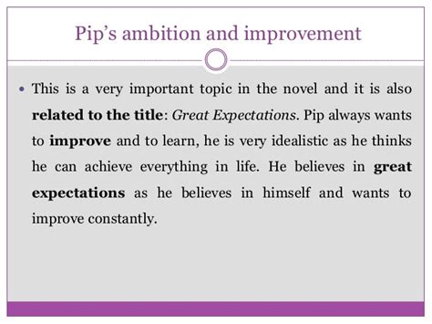 theme of education in great expectations great expectations marta m