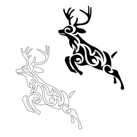 buck tribal tattoos www pixshark tribal deer ideas deer