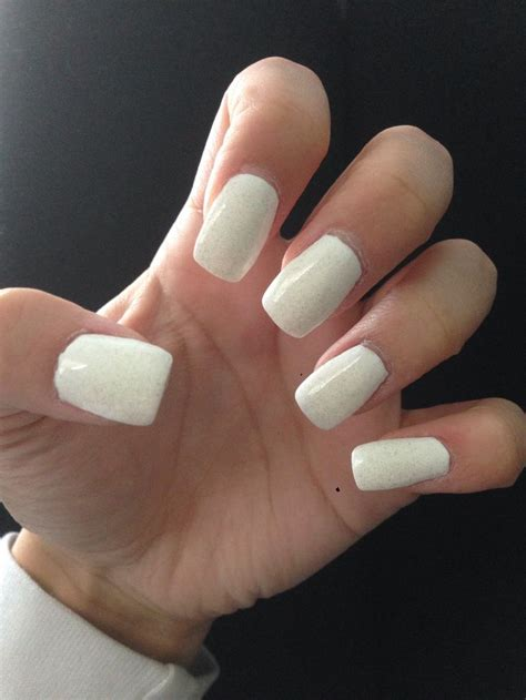All Nail by All White Acrylic Nails Obsessed Syd