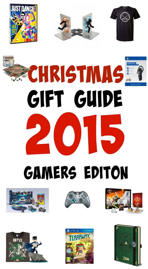 christmas gift guide for gamers 2015