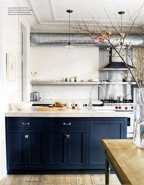 Navy Cabinets navy kitchen cabinets future house ideas pinterest