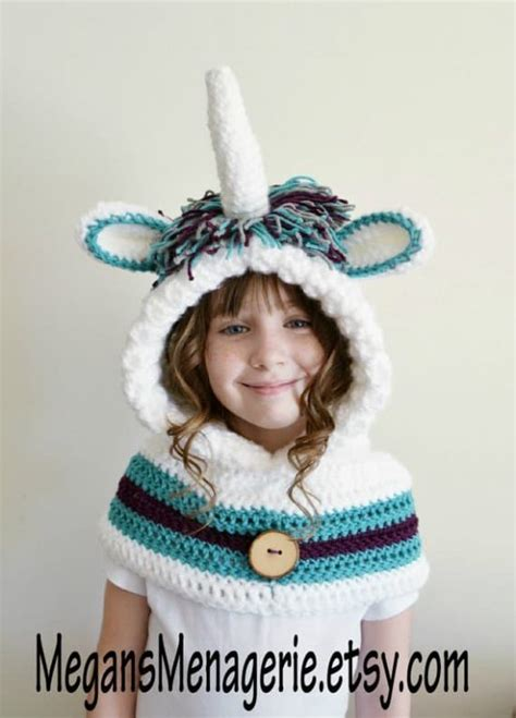 unicorn hood pattern unicorn crochet hat scarf pattern is a stunner