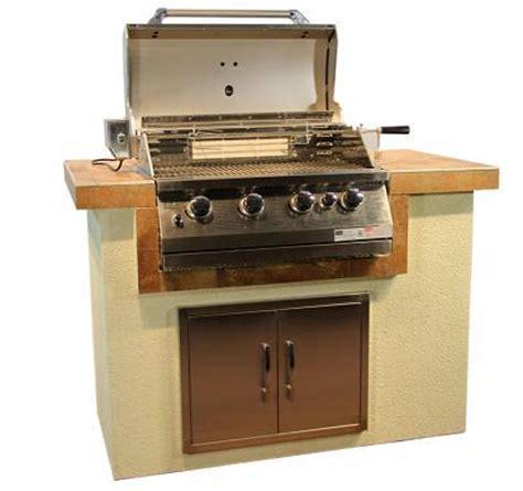 lade a gas bbq eiland roestvrij staal 304 buiten keukenkasten met