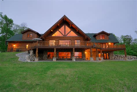 mn house log home paradise on leech lake mn luxury real estate