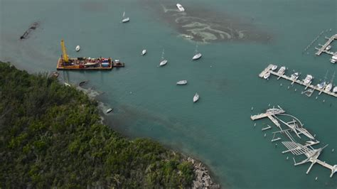 boat salvage puerto rico update 7 vessel salvage crews continue clean up