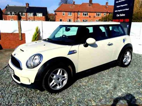 2007 Mini Cooper S Turbo Mini Immaculate 2007 Cooper S White 1 6 S Turbo Car