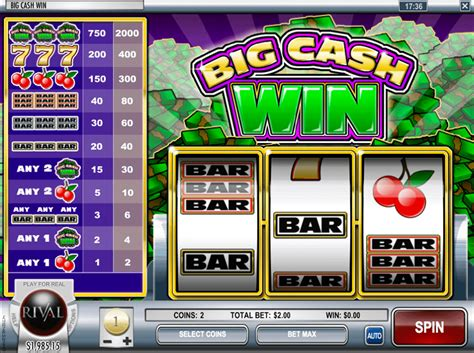 Free Slots Win Money - big cash win slot play best rival slots for free