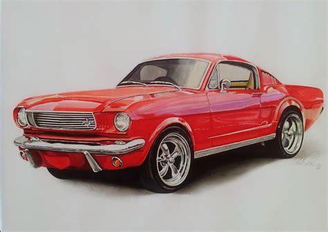 Mustang Auto Rot by Bild Auto Oldtimer Mustang Rot Wunschbilder Bei