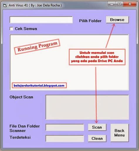 Membuat Virus Antivirus Dilengkapi Source Code Antivirus Brontok membuat anti virus sendiri dengan visual basic 6 aneka tutorial pemrograman