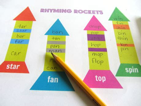 rhyming board game free printable no time for flash cards rhyming rockets free printable no time for flash cards