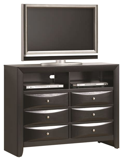 Tv Bedroom Furniture Furniture G1500 Tv Chest In Black G1500 Tv2 Media Chests Bedroom Furniture Bedroom