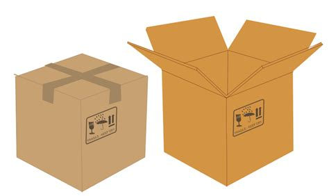 Box Versus Pictures Of Boxes Cliparts Co