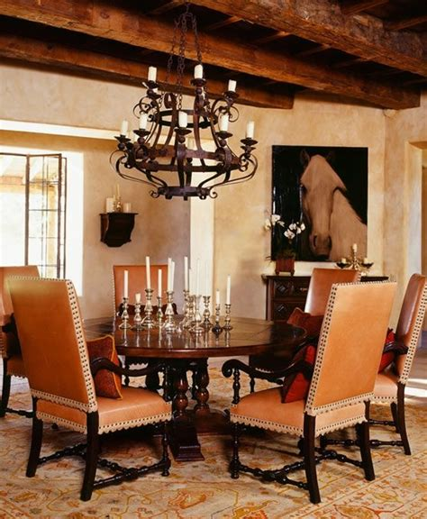 colonial dining room chairs achieve spanish style room by room beautiful dining