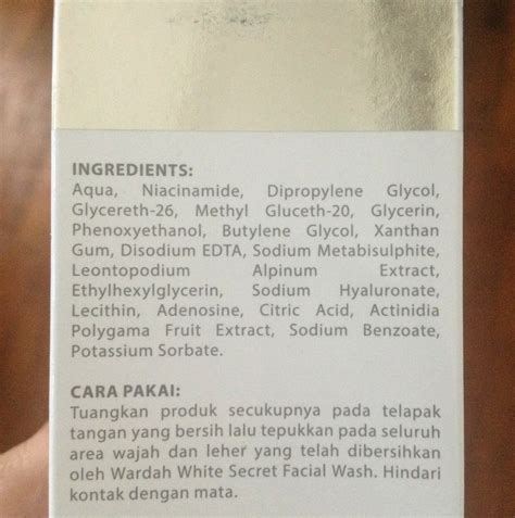 Harga Wardah White Secret Spf 35 wardah treatment essence impression mrsprimadewi