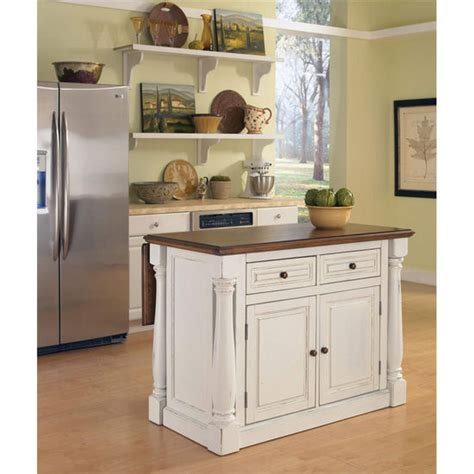white kitchen island with top home styles monarch kitchen island with two stools in