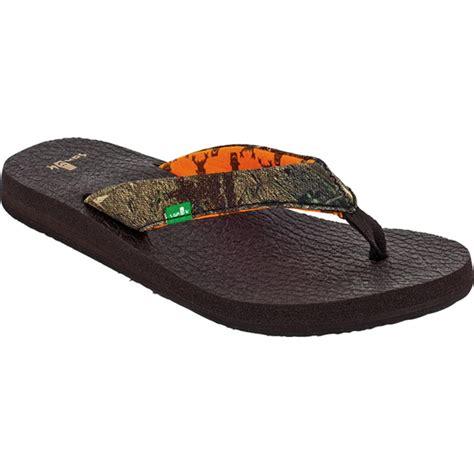 womens sanuk sandals sanuk mat mossy oak sandals s glenn
