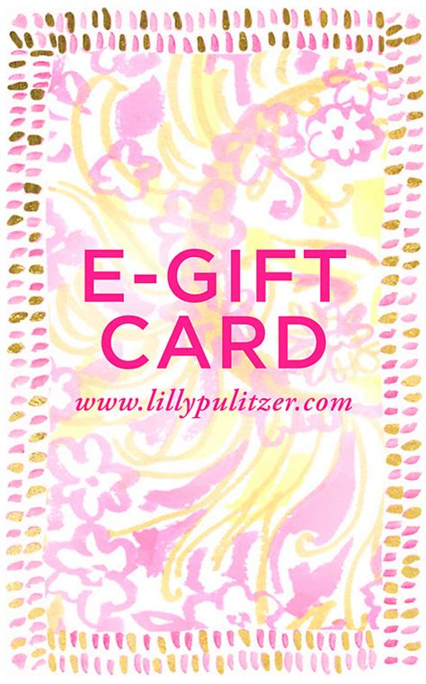 Lilly Pulitzer Gift Card - lilly pulitzer e gift certificate lilly pulitzer