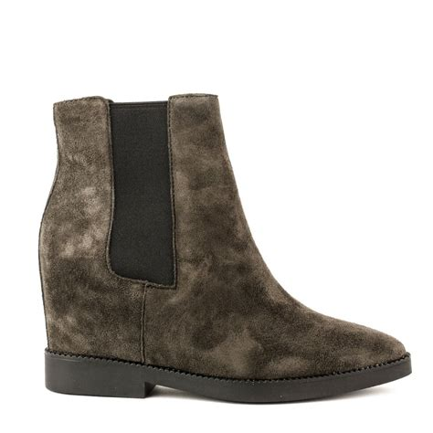 shop ash suede wedge boots for aw16 the gong boots are