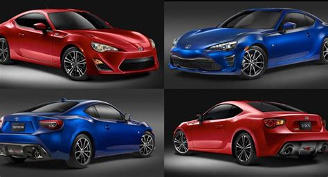 subaru brz vs scion frs vs toyota gt86 toyota 86 vs scion fr s a visual comparison carscoops