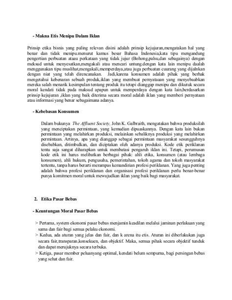Iklan Membuat Konsumtif | tugas etika bisnis ke 4