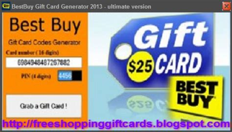 Free Best Buy Gift Cards - free best buy gift card generator 2013