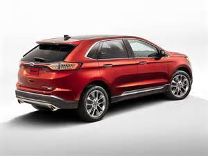 Ford Wdge New 2016 Ford Edge Price Photos Reviews Safety