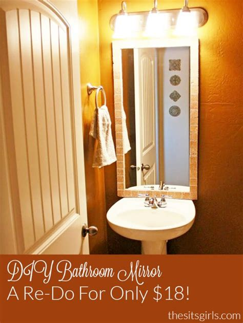 bathroom mirror replacement cost best 10 bathroom mirror redo ideas on pinterest redo