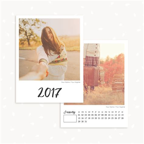 Monthly Calendar Template For Photographers Strawberry Kit Photography Calendar Template