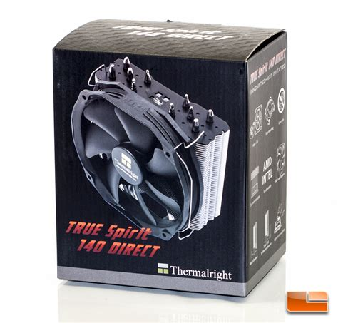 Thermalright Cpu Cooler True Spirit 140 Direct 1 thermalright true spirit 140 direct cpu cooler review