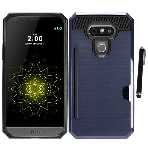 Hp Lg G5 Stylus for lg g5 metallic hybrid with credit card