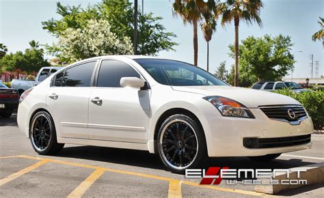nissan altima white with black rims nissan altima wheels and tires 18 19 20 22 24 inch