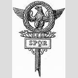 Spqr Eagle Standard | 238 x 350 jpeg 24kB