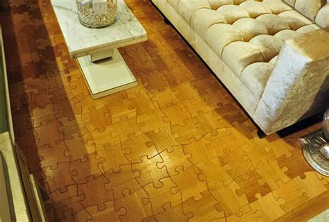 Puzzle Floor Wood by 10 Amazing Wood Floors That Will Knock Your Socks