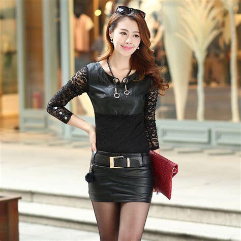 leather mini skirts dress