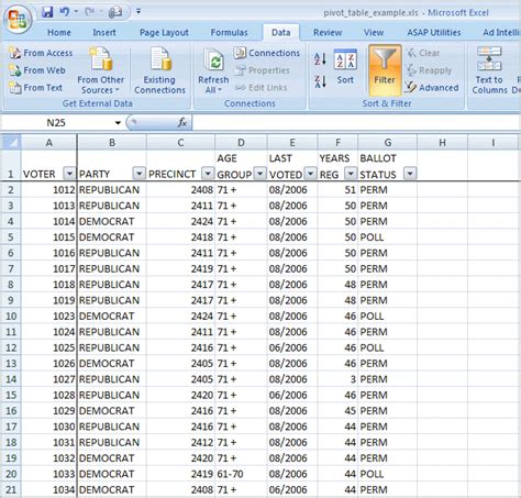 Learning Excel Spreadsheets by Sle Data For Learning Excel Toppright