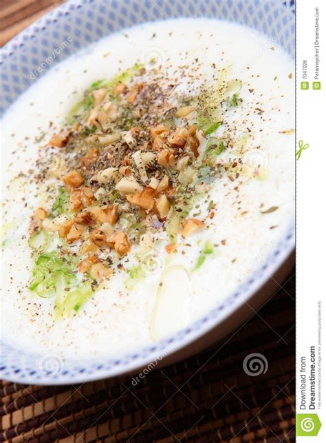 cold soup name bulgarian cold soup royalty free stock image image 7047026