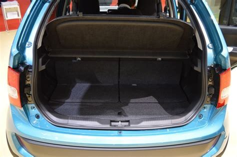 Maruthi Suzuki Price Maruti Suzuki Ignis Boot Space Reviews Luggage Storage Space