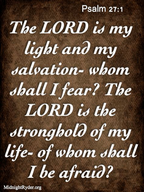 the lord is my light and salvation fear of the lord quotes quotesgram